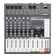 Powermixer PME82A DSP czytnik USB (MP3, WAV), Bluetooth | 2x250W/RMS/4ohm.